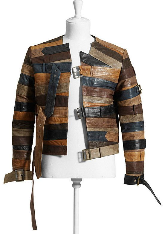 448eb719bb Maison Martin Margiela Leather Belt Jacket MMM H M Dust BAG Hanger | eBay