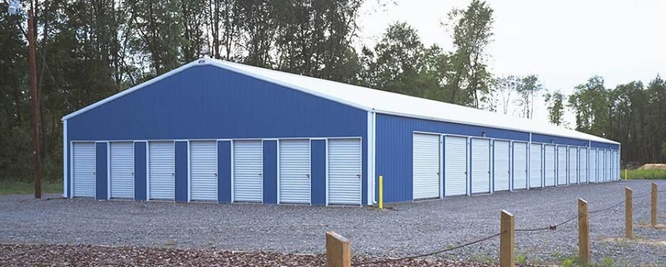 Commercial building profile use commercial postframe