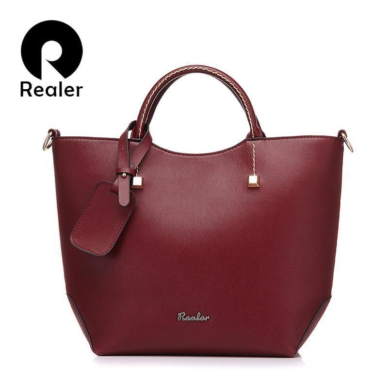 New And Elegant Fine Leather Handbag