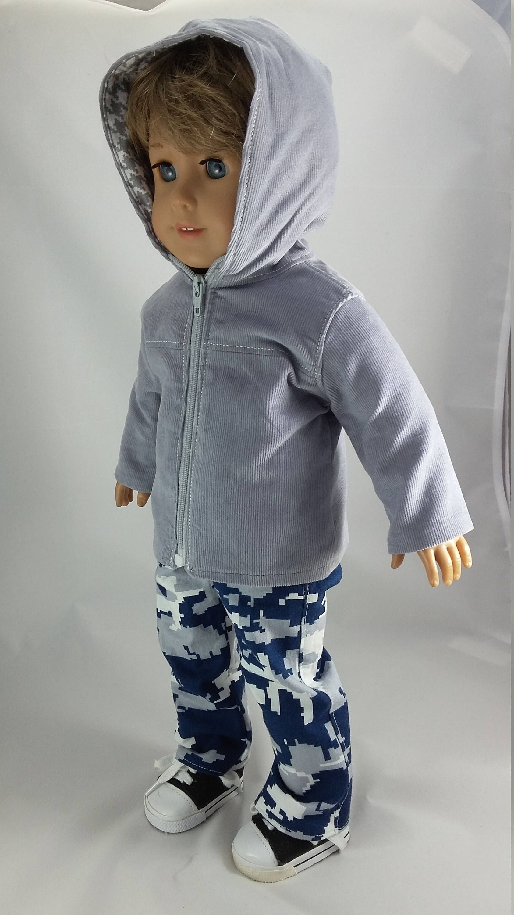 18 doll clothes - Boy's Grey hoodie coat and blue Camo Cargo pants #boydollsincamo 18 doll clothes - Boy's Grey hoodie coat and blue Camo Cargo pants by Grandmasadiescloset on Etsy #boydollsincamo 18 doll clothes - Boy's Grey hoodie coat and blue Camo Cargo pants #boydollsincamo 18 doll clothes - Boy's Grey hoodie coat and blue Camo Cargo pants by Grandmasadiescloset on Etsy #boydollsincamo 18 doll clothes - Boy's Grey hoodie coat and blue Camo Cargo pants #boydollsincamo 18 doll clothes - Boy's #boydollsincamo