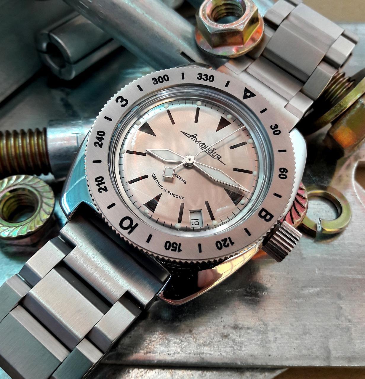 Modificacion Reмодификации Amphibia Reloj Vostok Часов Восток Foro I9HE2D