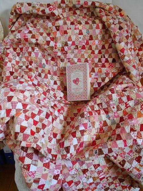De Bruidsquilt Jennifer Chiaverini.Winnaar Van Het Boek De Bruids Quilt Geschreven Door Jennifer