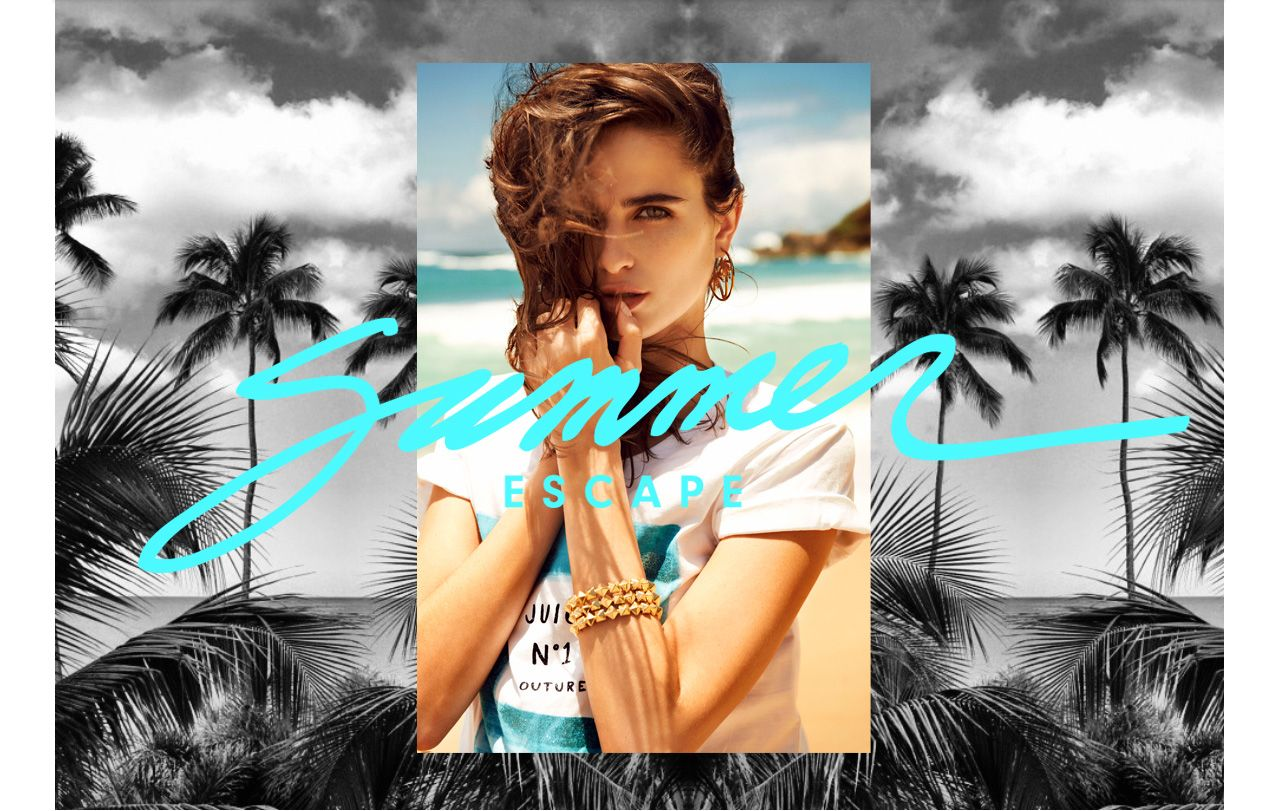 summer escape: loulou robert by alexander neumann for juicy couture summer 2013   visual optimism; fashion editorials, shows, campaigns & more!