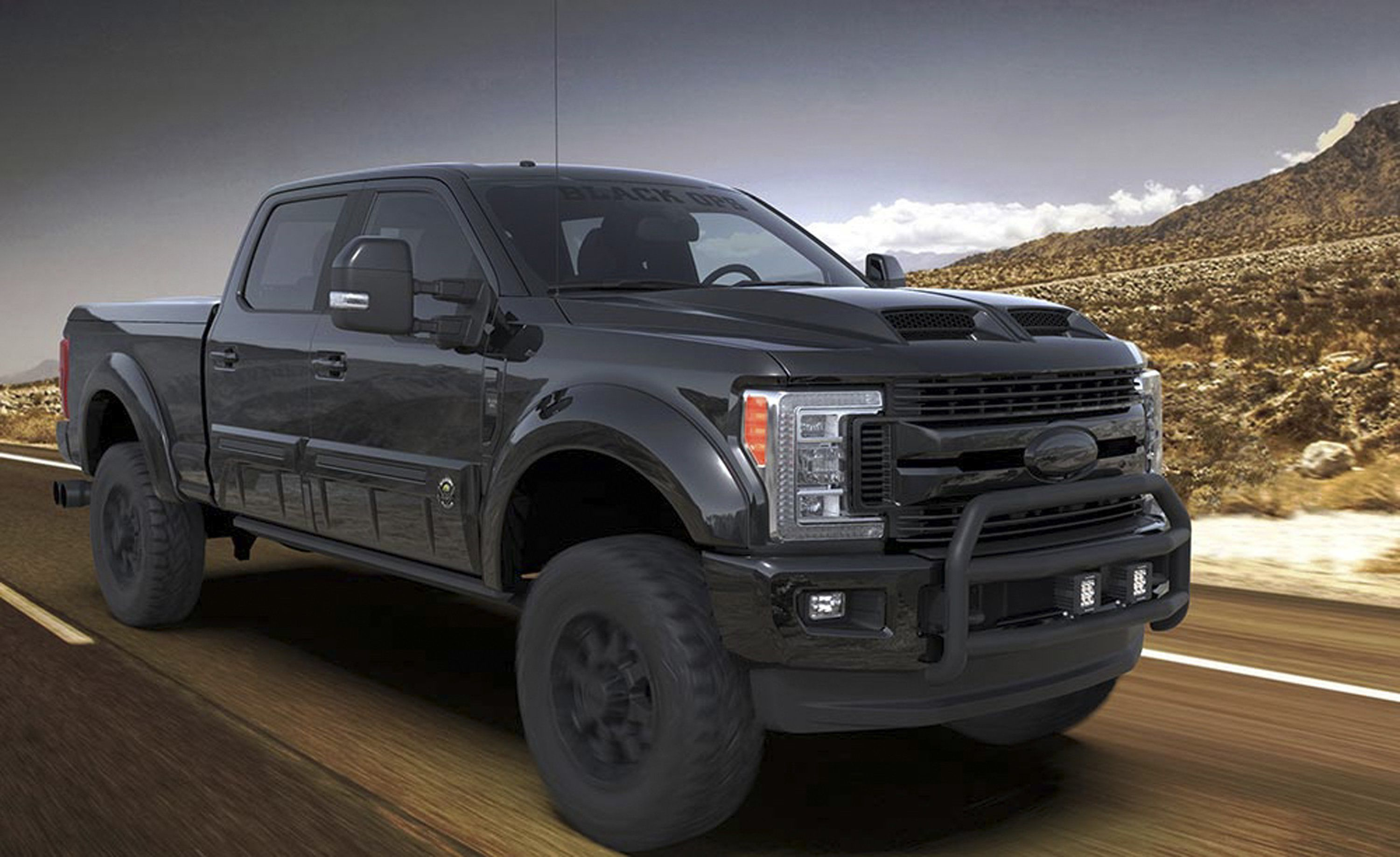 2020 Ford F 250 Black Ops By Tuscany With Images Ford Black