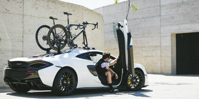 Bespoke Bikes, Hyper Cars & the SeaSucker Talon   Car bike rack ...