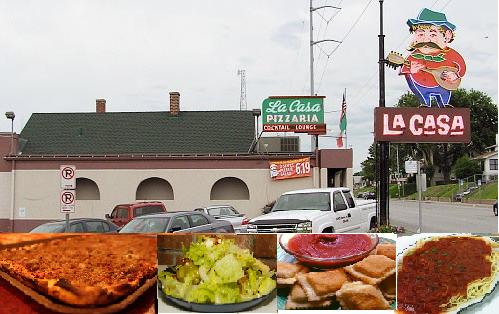 La Casa Pizzaria favorite foods Omaha nebraska, Favorite