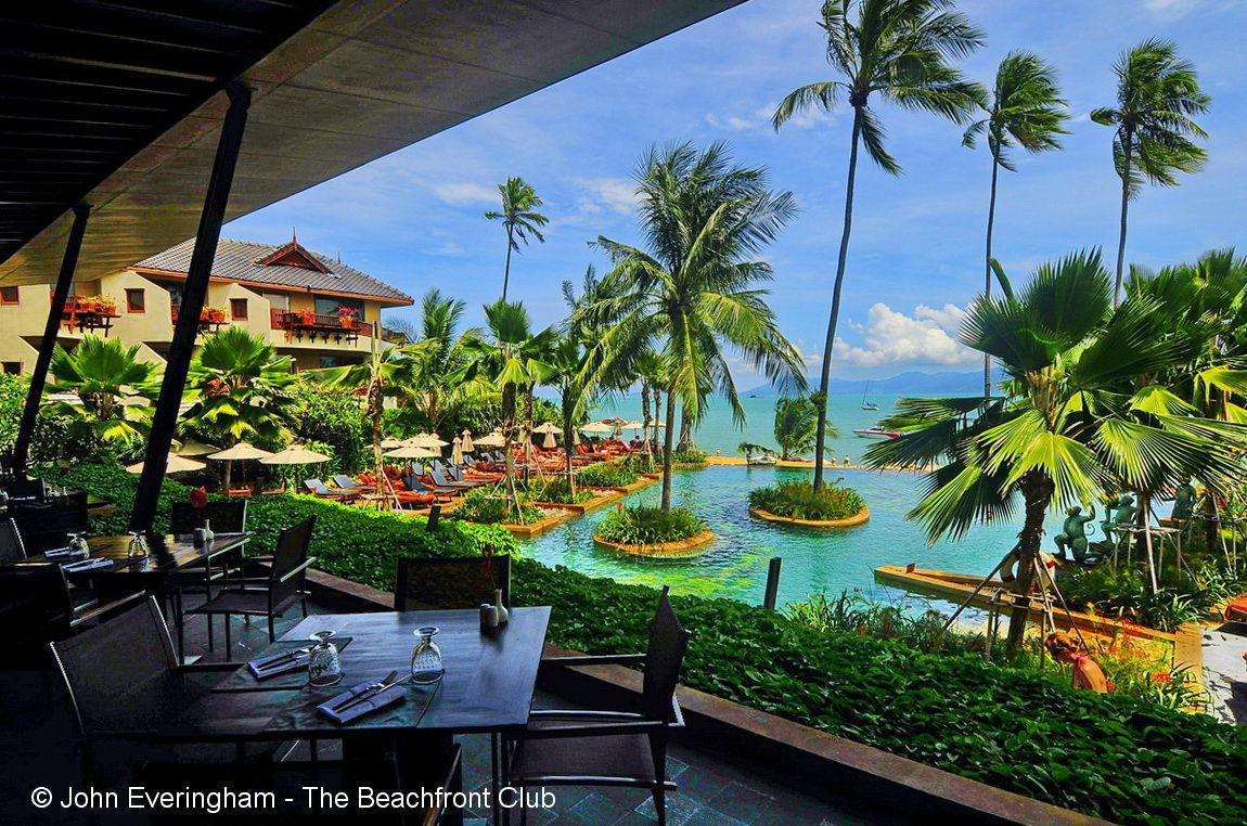 Koh samui thailand anantara resort was the first 5 star establishment to open