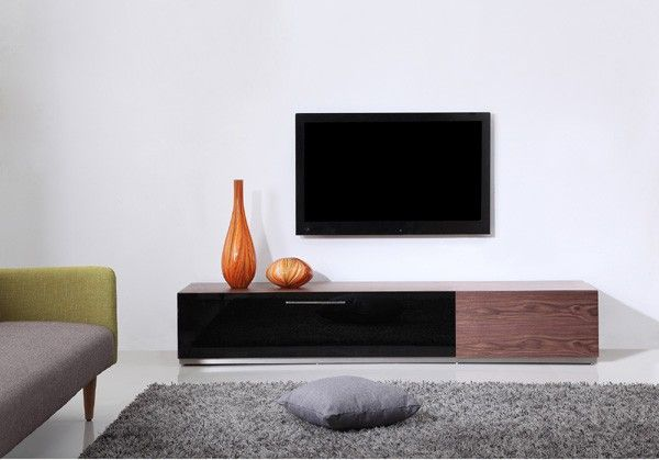 Steel Modern Tv Stand With Ir