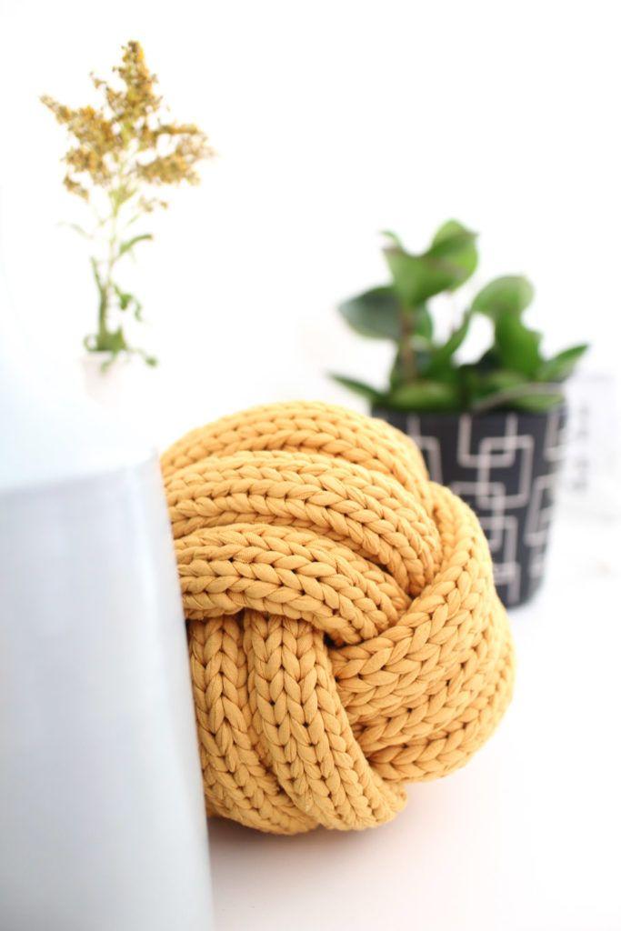 Xxl Stricken Dekoideen Mit Textilgarn Textilgarn