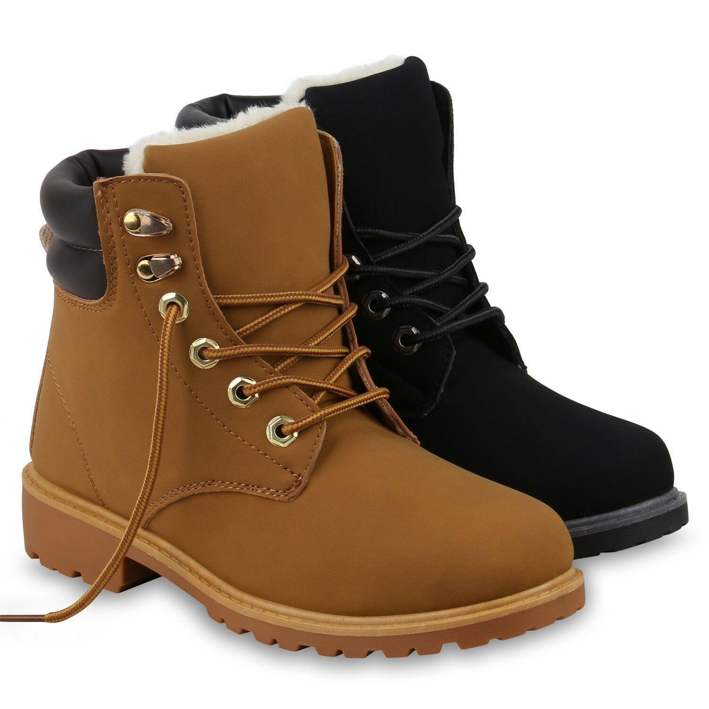 Boots Outdoor 895917 Damen Worker Stiefel Stiefeletten 7gyb6f