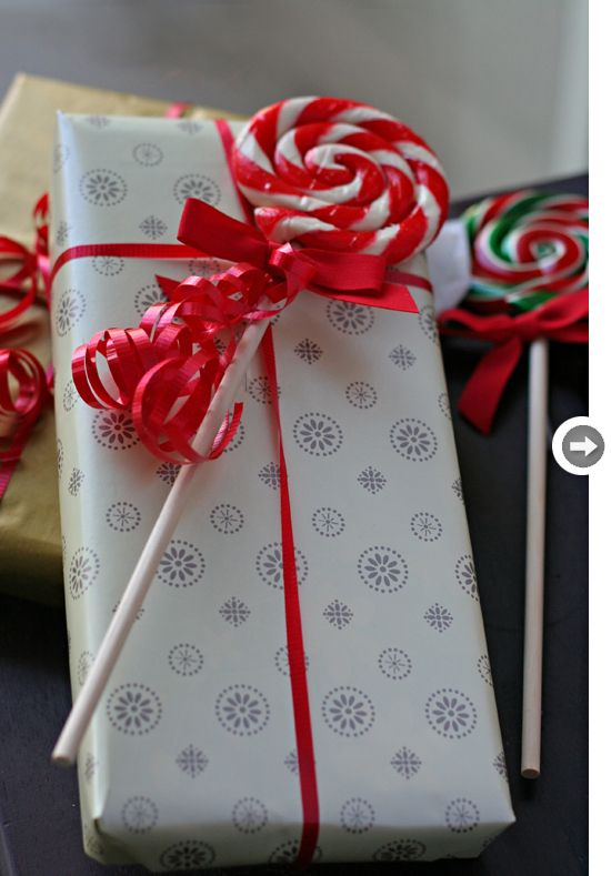 lollipops add a festive touch to any gift