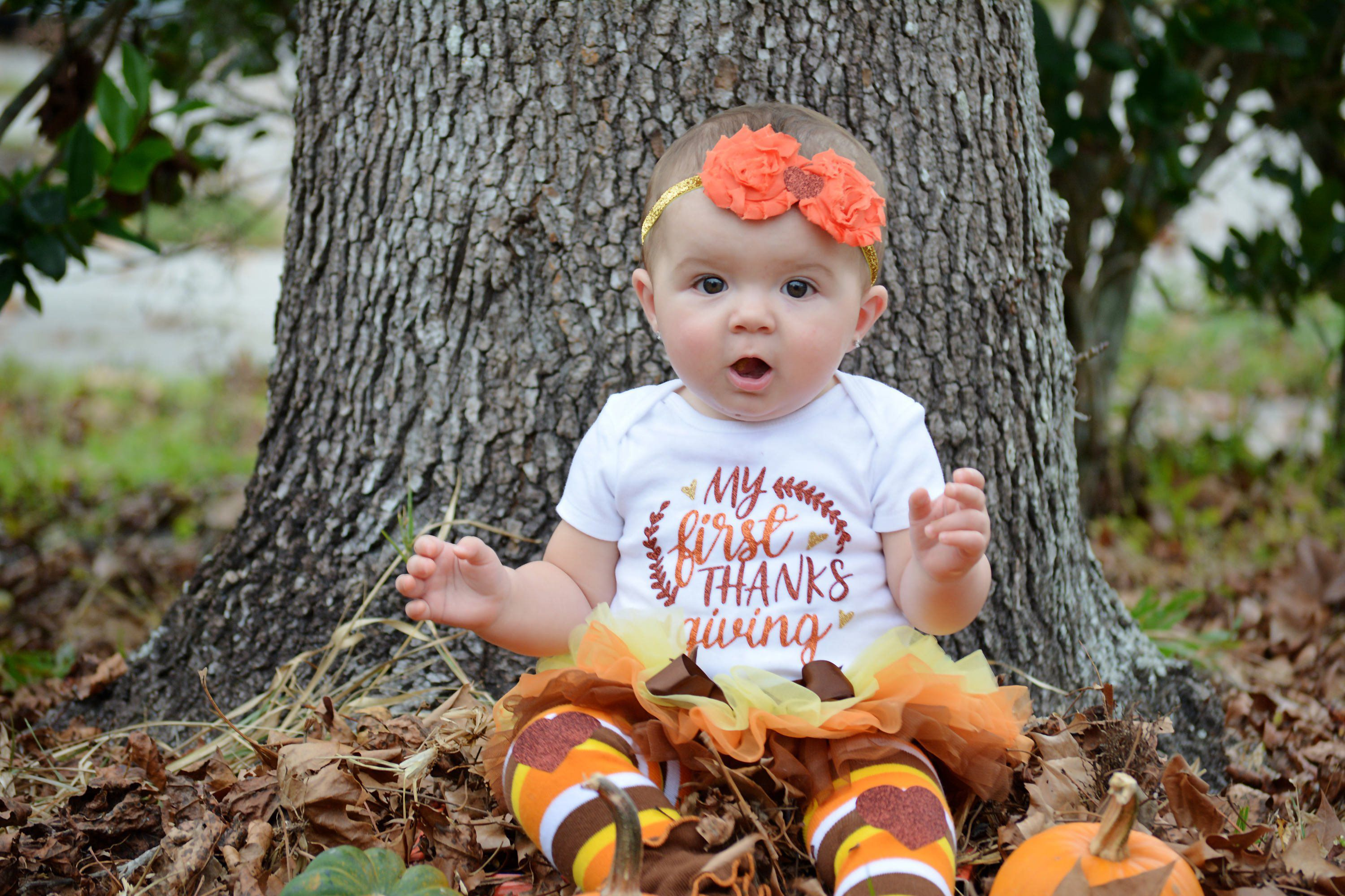 36 Adorable Toddler Girl Thanksgiving Outfit
