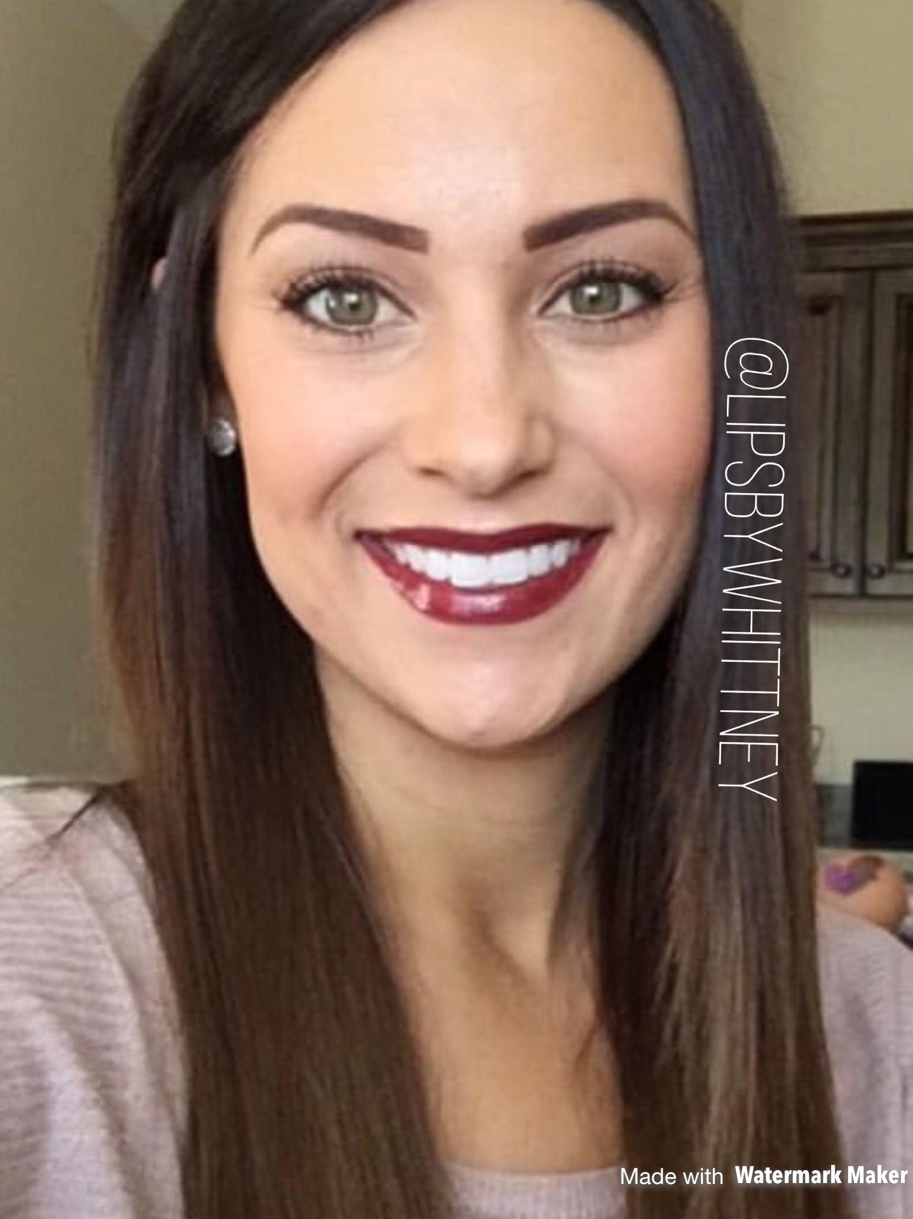 Lipsense Makeup: LipSense Color: MULLED WINE