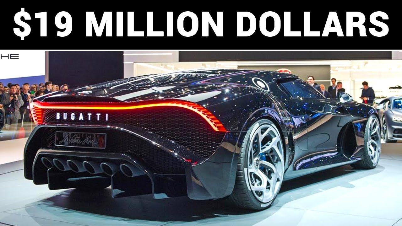 World S Most Expensive Car Bugatti La Voiture Noire Youtube Bugatti