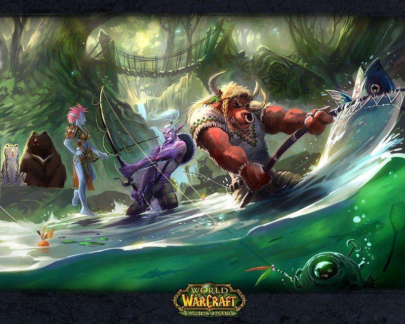 Welt Warcraft 3d Animation