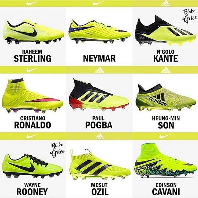 SOCCER CLEATS · FOOTBALL BOOTS on