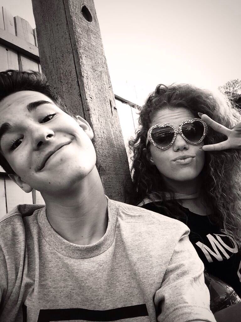 Jacob Whitesides and Mahogany LOX