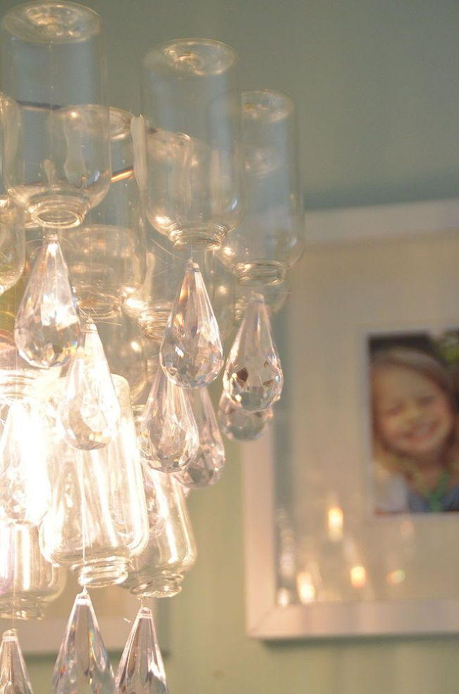 Dollar Chandelier Hometalk Use Empty Travel Bottles Glued To Wire With Plastic Babbles Or Left Over Ornaments