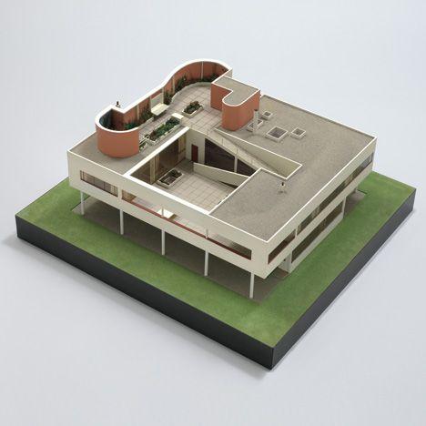 Le Corbusier, formé à la gravure et à la décoration, n\u0027était pas - Logiciel De Plan De Maison 3d Gratuit
