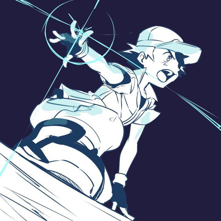 Ash preparing to use Battle Bond