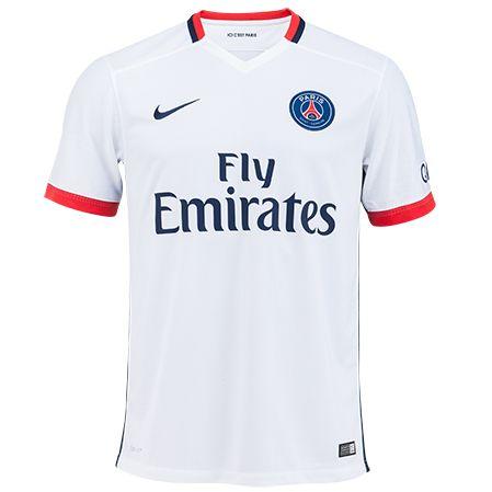 Magasin Maillot De Foot Paris Saint-Germain Exterieur 2015 2016 Vintage