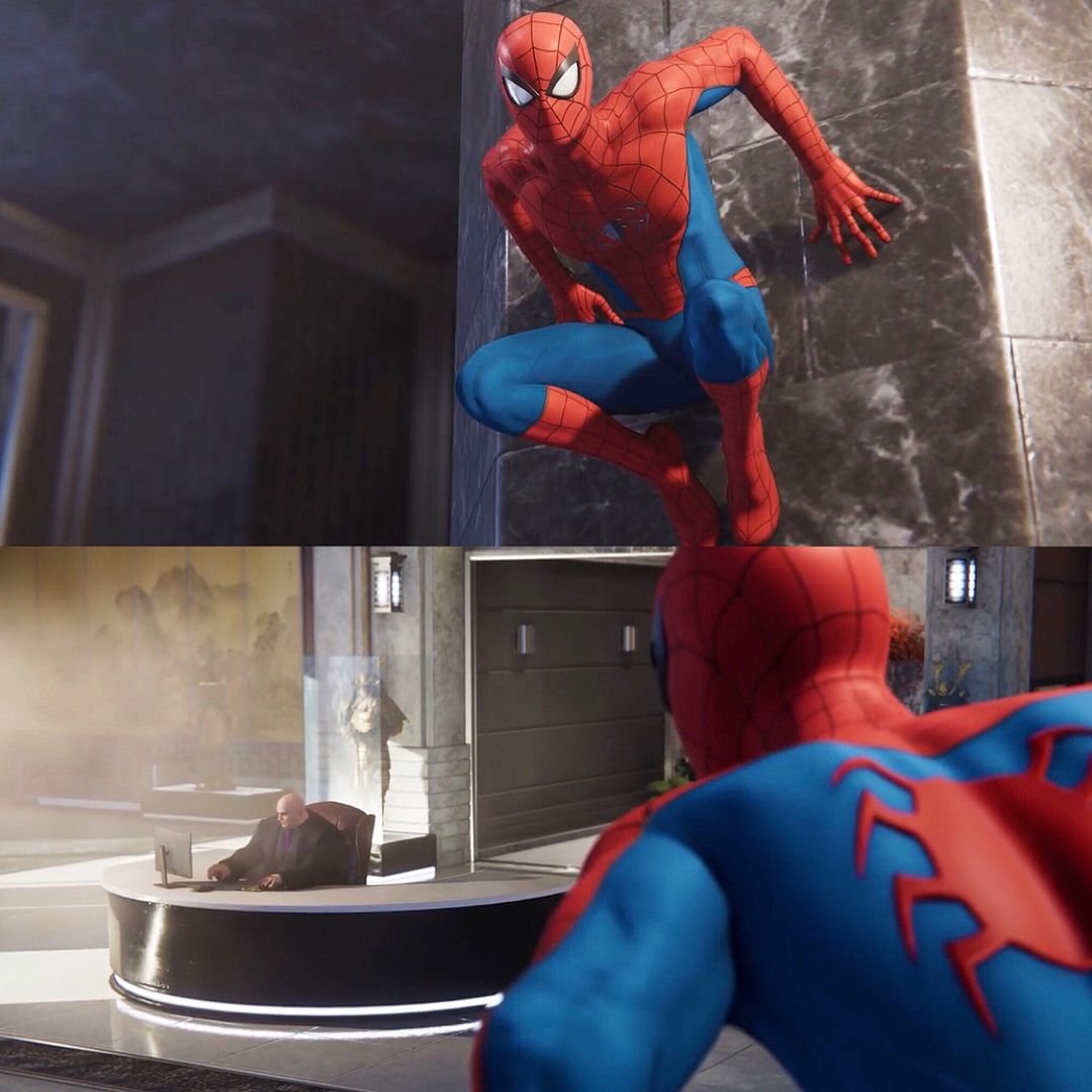 Spider Man Vs Kingpin Spectacular Spider Man Spiderman Man Vs