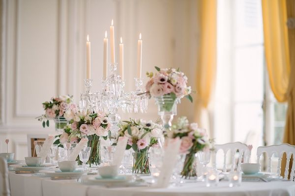 Inspirational Pastel Wedding At A French Chateau In Paris France