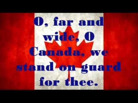 Canadian National Anthem O Canada O Canada Lyrics Canadian National Anthem