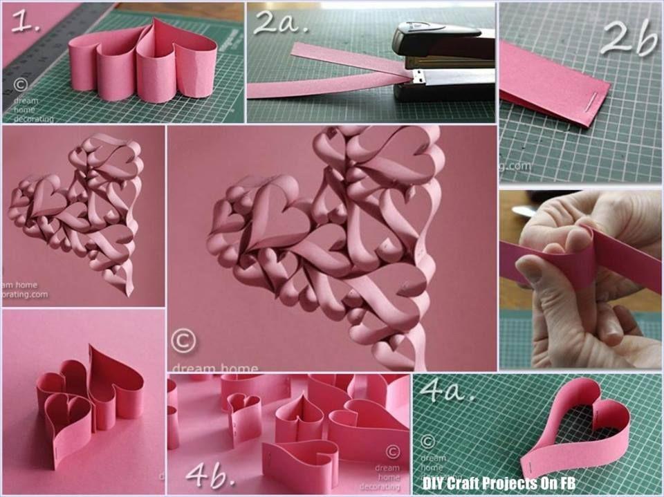 Rejunte De Paso A Paso En Fotos Manualidades Artesanias Manualidades Artesania Con Papel Formas De Corazon