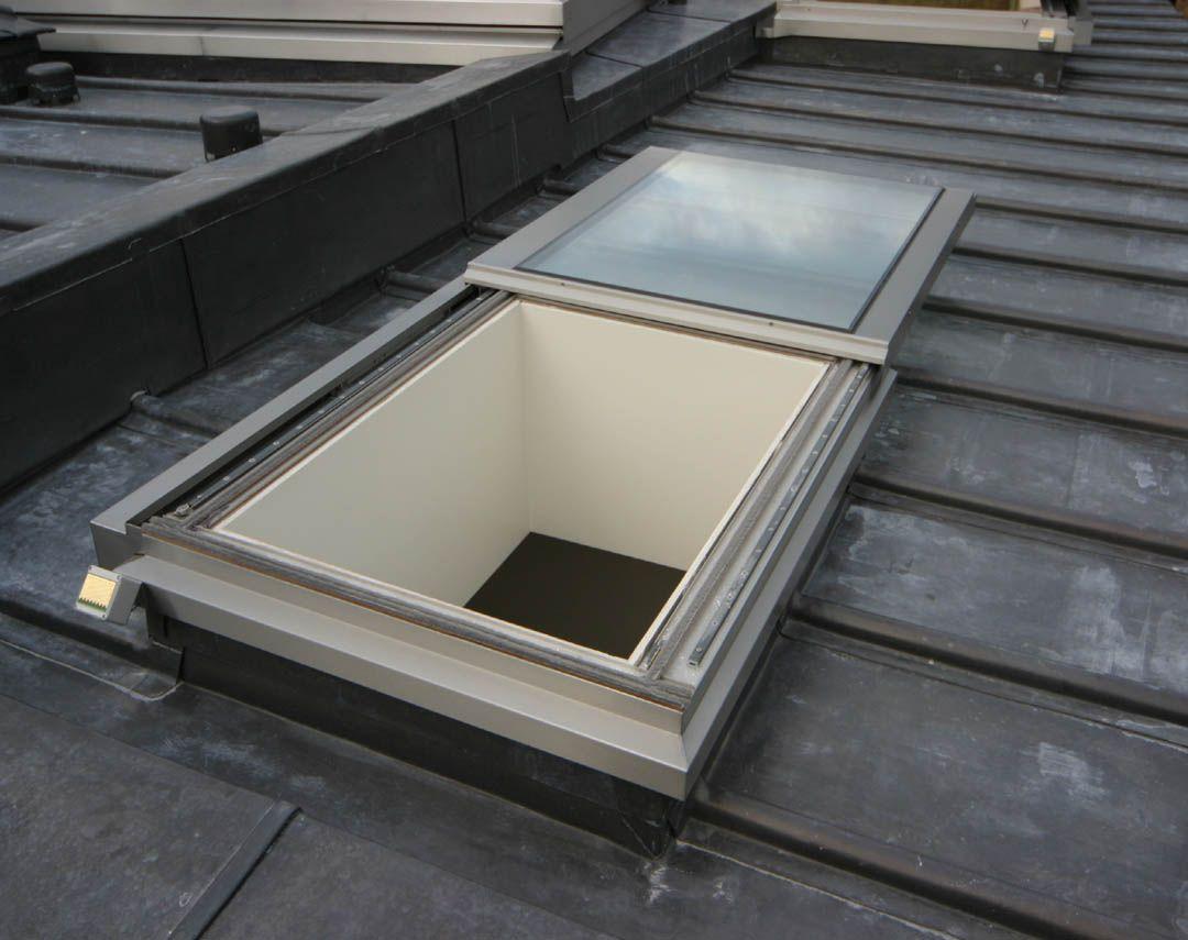Roof Access Hatch, Roof Hatch, Hatch Door, Flat Roof Construction, Orangery  Extension