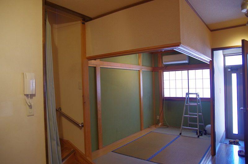 セルフリノベーション Diyで壁を抜く その1 洋室 セルフリフォーム