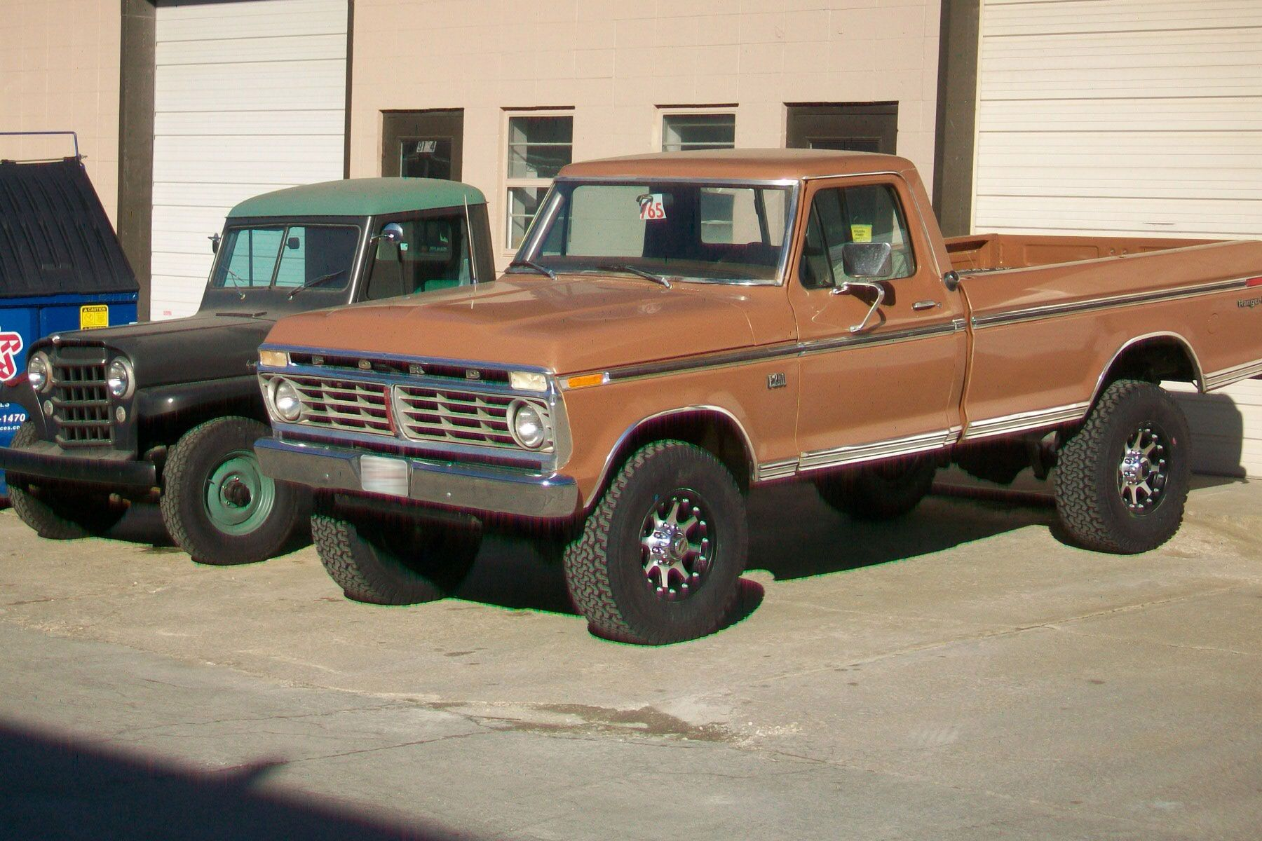 Jessica Vanderpool & her 75 Ford — LMC Trucklife