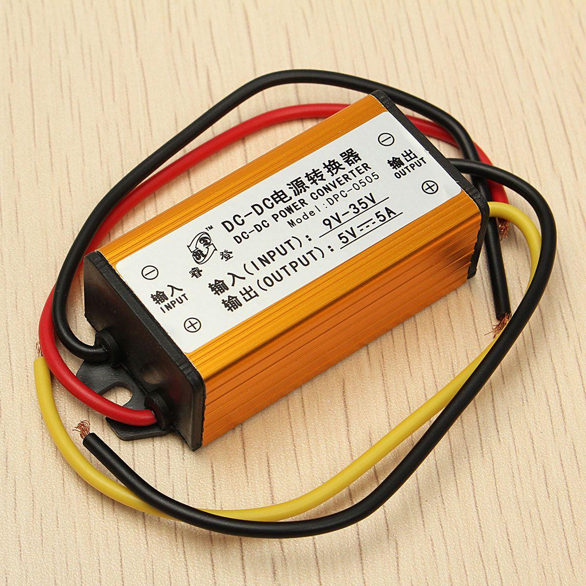 9V/35V To 5V 5A DC-DC Voltage Power Converter Buck Module