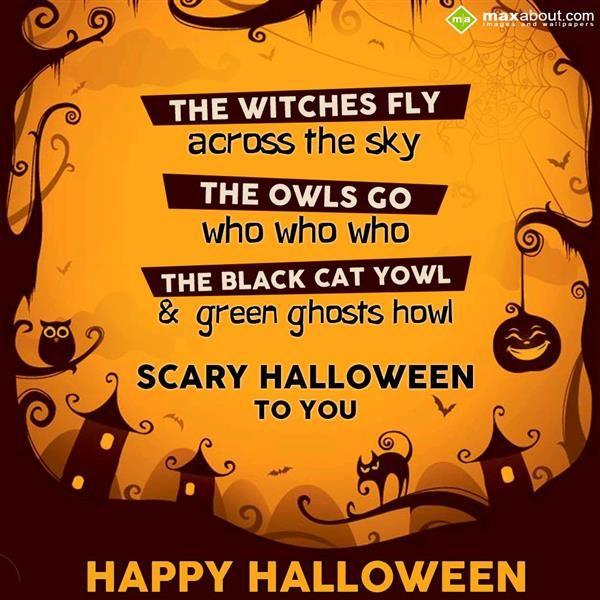 Halloween facts sms greetings pinterest halloween m4hsunfo