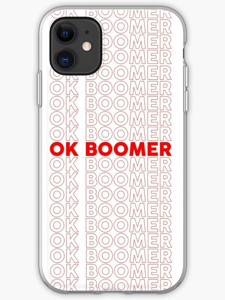 Ok Boomer Repeated Iphone 11 Soft By Ryanbarszcz Iphone Cases Disney Iphone Cases Iphone Case Covers Cool ok boomer wallpaper for iphone xr