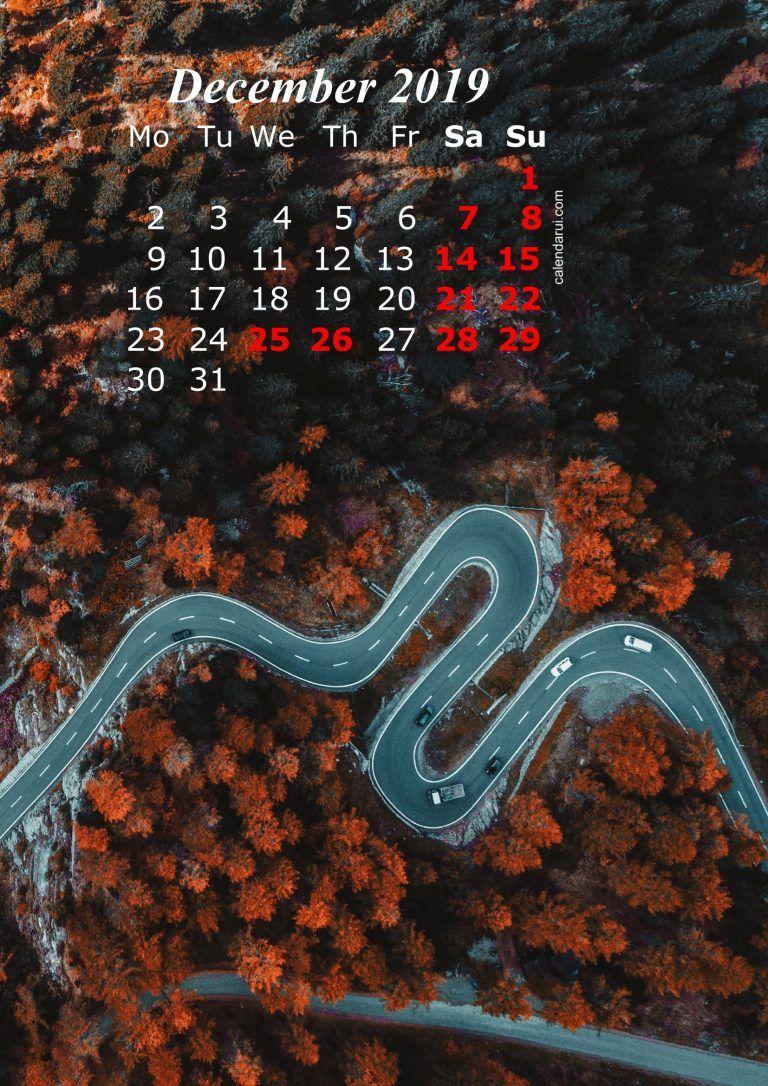 12 December 2019 Calendar Iphone Wallpaper HD