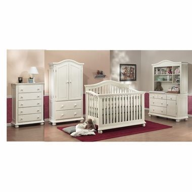 Sorelle 5 Piece Nursery Set Vista 4 In 1 Pine Convertible Crib