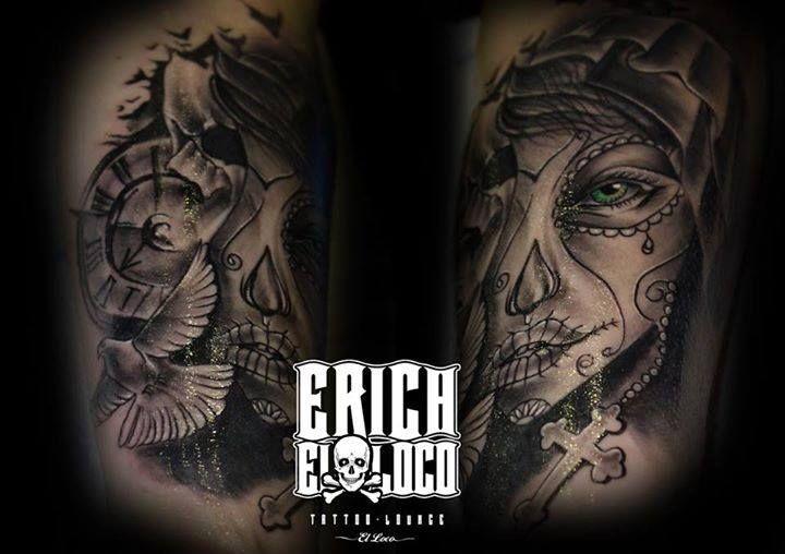 Tattoo La Muerta La Catarina