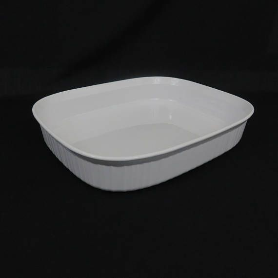 Corning Ware 11 Quot X14 Quot X2 1 2 Quot French White Open Roaster