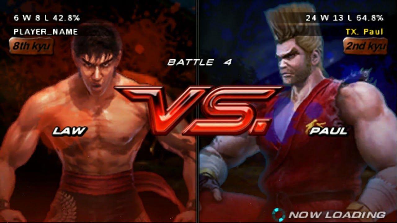 Tekken 6 Ghost Battle Jin Kazama Marshal Law Bryan Fury Bryan Fury Youtube My Heart Is Breaking