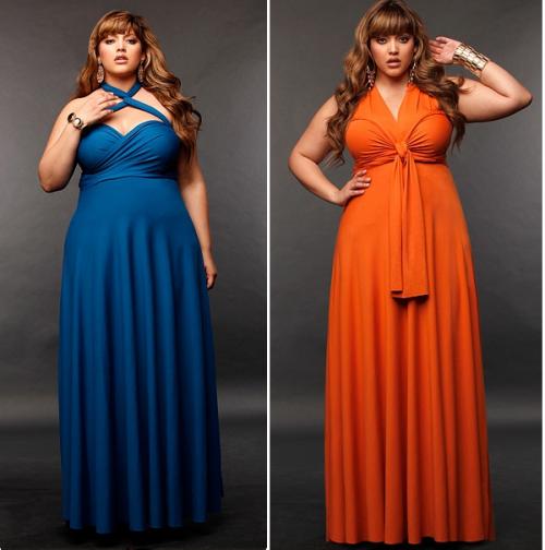 Plus Size Monif C Marilyn Convertible Dress