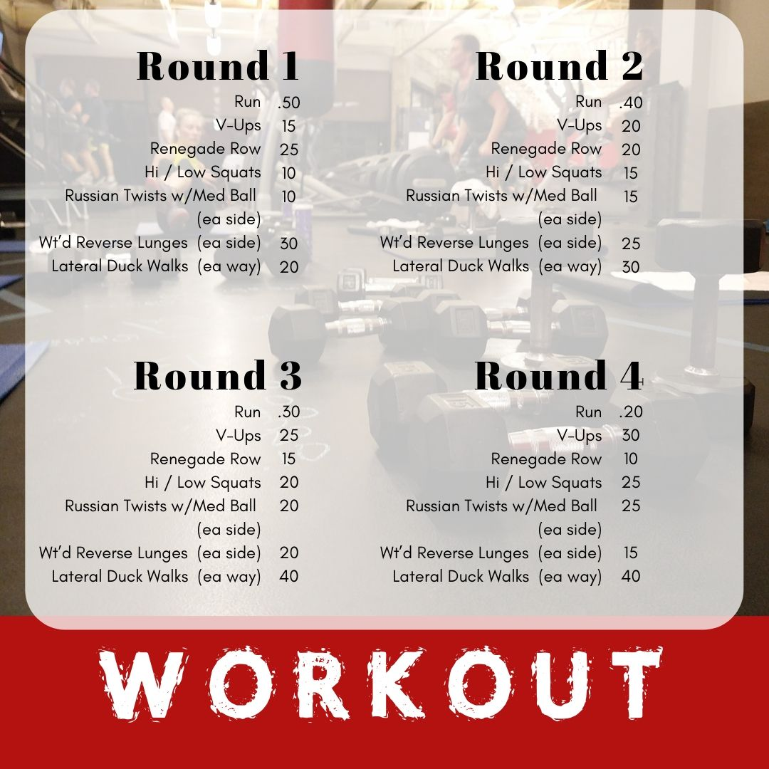 Workout Of The Week Wild Basin Fitness Workout Fitness Russian Twist