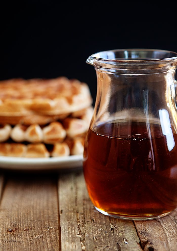 Make inexpensive maple syrup at home that tastes superior to the store-bought stuff with this simple three-step homemade maple syrup recipe.
