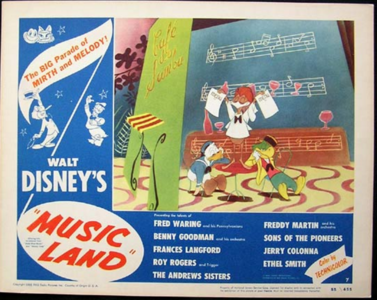 Image result for music land 1955