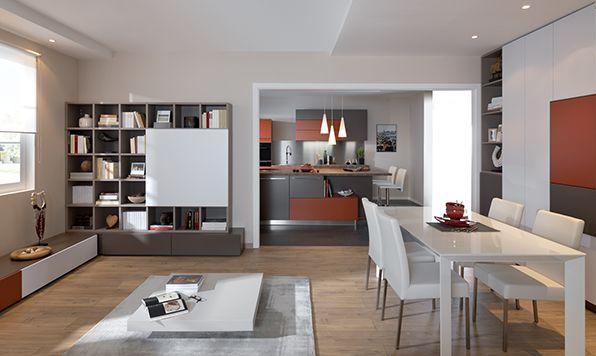 marier les couleurs dans une cuisine ouverte blog schmidt deco cuisine pinterest cuisine. Black Bedroom Furniture Sets. Home Design Ideas