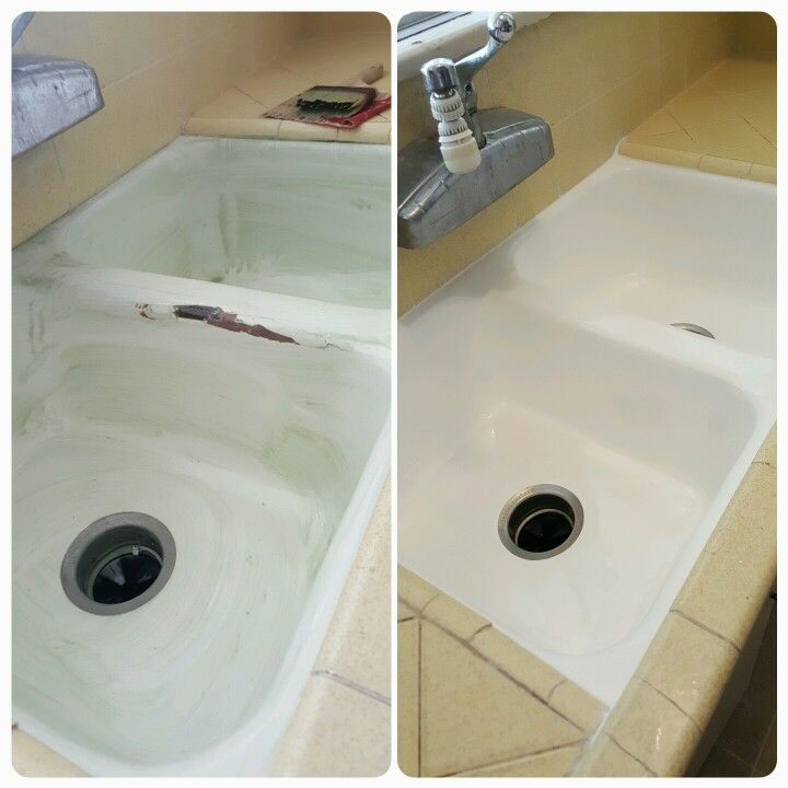 Can T Afford The Cost Of Tearing Out Countertops To Replace A Damaged Kitchen Sink Professionally Done Bathtub Reglazing Refinishing Is Your Co