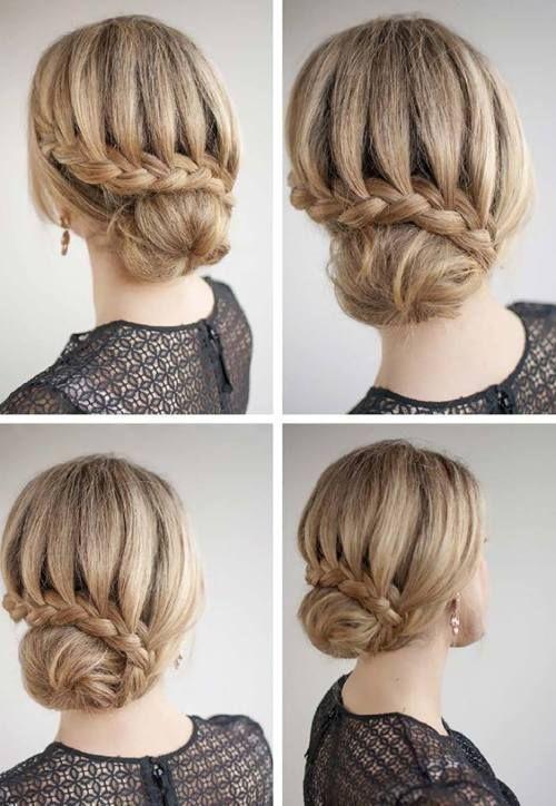 30 Recogidos Faciles Paso A Paso Recogido Recogidos Faciles Facil Ideas Tips Como Peinados Con Trenzas Peinados Elegantes Peinados Faciles Pelo Corto