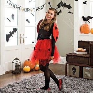 i like this lady bug costume because its cute and not skanky - Womens Halloween Costumes Not Skanky