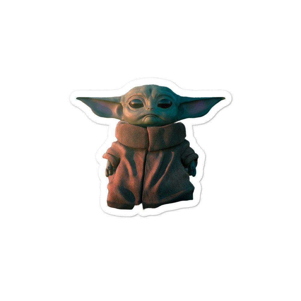 Pin By Tyraxt On Graphics Yoda Sticker Cute Stickers Aesthetic Stickers