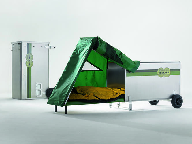 The Mobile Homeless Shelter Of The Future In 2020 Homeless Shelter Design Homeless Shelter Homeless Shelter Ideas